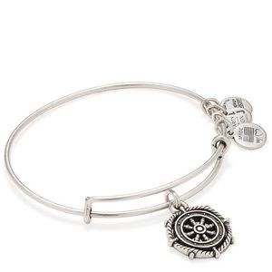 ALEX AND ANI SET OF 3 NAUTICAL BRACELET SILVER